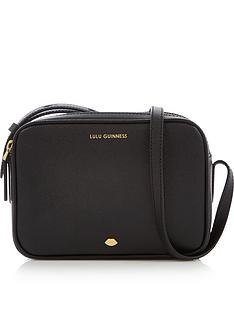 lulu-guinness-lip-pin-cole-cross-body-bag-black