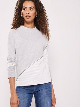 mint-velvet-mint-velvet-blocked-ottoman-zip-hem-knit-jumper
