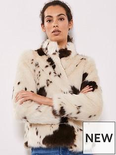 mint-velvet-cow-print-faux-fur-jacket