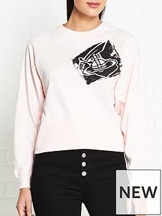 vivienne-westwood-anglomania-orb-crop-sweatshirt-pink