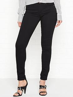 vivienne-westwood-anglomania-slim-leg-orb-patch-jeans-black