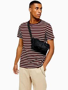 topman-topman-harry-stripe-t-shirt-red