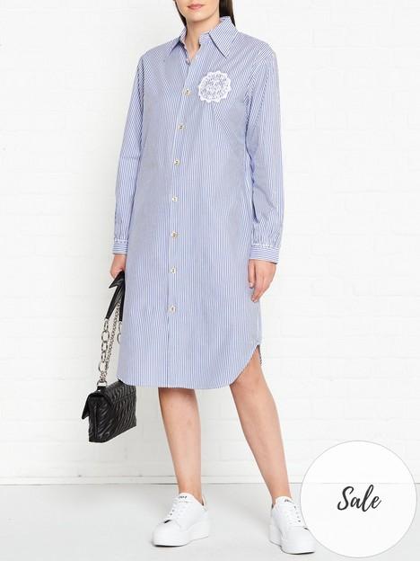 vivienne-westwood-anglomania-stripe-shirt-dress-blue