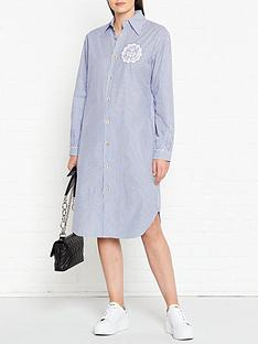 vivienne-westwood-anglomania-stripe-shirt-dress-blue