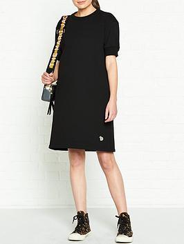 ps-paul-smith-zebra-sweatshirt-dress-black