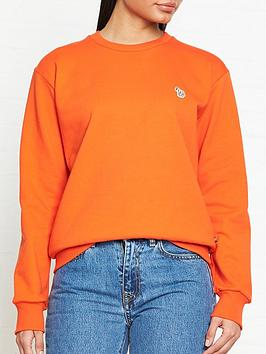 ps-paul-smith-zebra-sweatshirt-orange