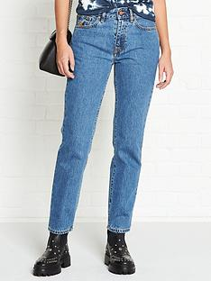 vivienne-westwood-anglomania-harris-orb-embroidered-slim-leg-jeans-blue