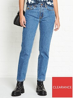 vivienne-westwood-anglomania-harris-orb-embroidered-slim-leg-jeans-blue
