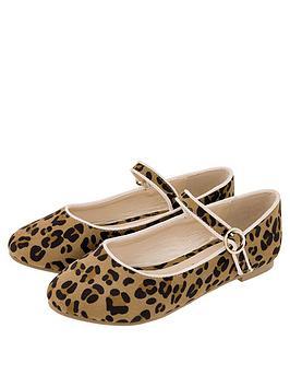 monsoon-clarissa-leopard-ballerina