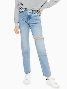topshop-bleach-wash-ripped-straight-leg-jeans-bleached