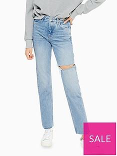 topshop-bleach-wash-ripped-straight-leg-jeans-bleached
