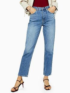 topshop-topshop-mid-blue-editor-jeans-blue
