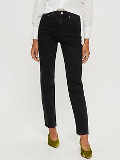 topshop-washed-black-high-waist-straight-jeans-washed-black