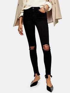 topshop-austin-rip-jamie-jeans-black