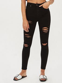 topshop-rip-jamie-super-high-waisted-black-skinny-jeans