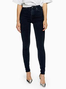 topshop-jamie-super-high-waisted-blue-black-skinny-jeans