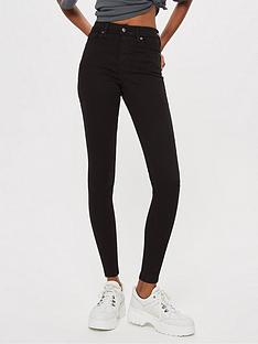 topshop-jamie-super-high-waisted-black-skinny-jeans