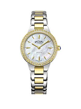 rotary-rotary-mother-of-pearl-and-gold-detail-crystal-set-dial-two-tone-stainless-steel-bracelet-ladies-watch