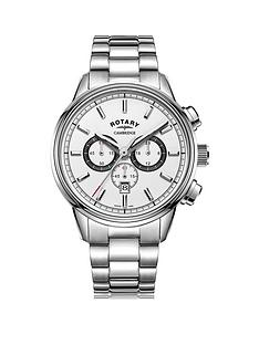 rotary-rotary-cambridge-white-and-black-detail-chronograph-dial-stainless-steel-bracelet-mens-watch