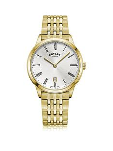rotary-exclusive-rotary-silver-sunray-date-dial-gold-stainless-steel-bracelet-mens-watch