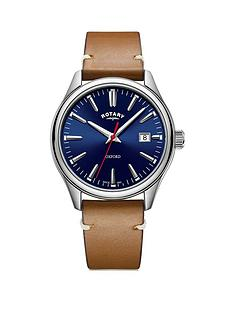 rotary-rotary-blue-and-silver-detail-date-dial-tan-leather-strap-mens-watch