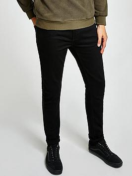 topman-topman-reuben-spray-on-jeans-black