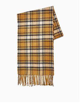 topman-topman-check-reversible-scarf--nbspcamel
