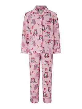 monsoon-nara-unicorn-flannel-pyjama-set