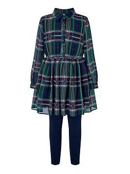 monsoon-ciara-check-tunic-set