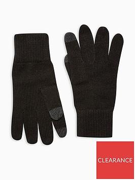 topman-topman-touch-screen-gloves-black