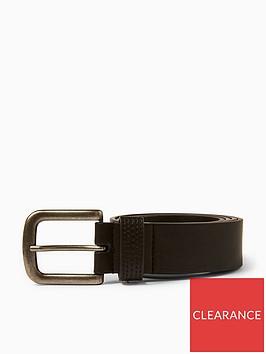 topman-topman-leather-belt-black