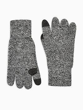 topman-topman-touch-screen-gloves-grey