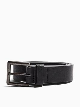 topman-topman-faux-leather-belt-black