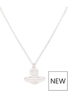 vivienne-westwood-romina-pave-orb-pendant-necklace-silver
