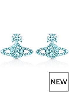 vivienne-westwood-grace-bas-relief-stud-earrings-blue