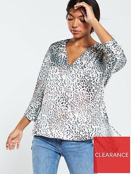 v-by-very-satin-printed-notch-neck-blouse-leopard-print