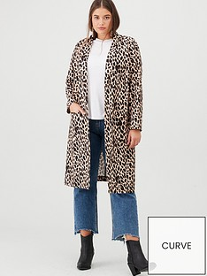 v-by-very-curve-longline-duster-coat-animal-print