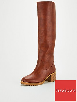 v-by-very-talula-straight-leg-cleat-knee-boot-tan
