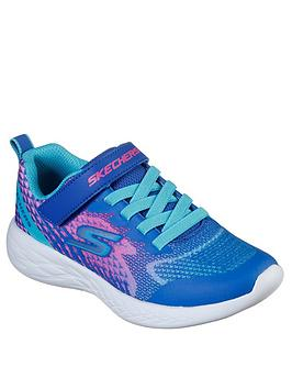skechers-girls-radiant-runner-trainers-blue