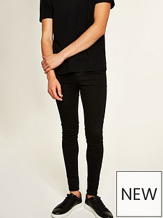 topman-topman-egypt-deejay-spray-on-jeans-black