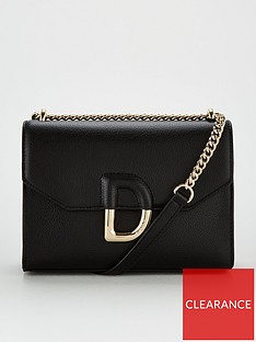 dkny-von-flap-shoulder-bag-black