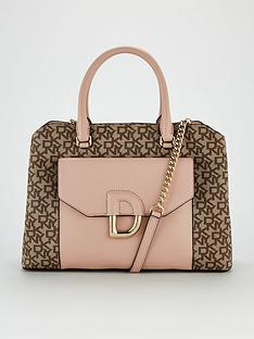 dkny-von-triple-satchel-cashmere-pink