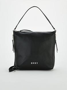 dkny-tappen-large-zip-hobo-bag-black