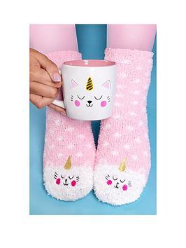 kittycorn-socks-and-mug-set