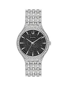 bulova-phantom-black-adorned-dial-stainless-steel-and-crystal-bracelet-watch