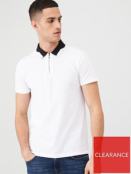 v-by-very-zip-placket-polo-shirt-white