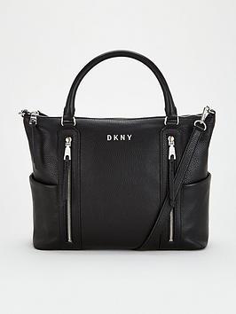 dkny-tappen-satchel-black