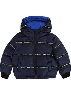 little-marc-jacobs-boys-reversiblenbsplogo-taped-coat-navyblue