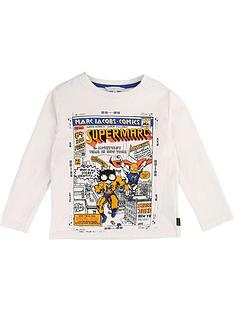 little-marc-jacobs-boys-comic-print-long-sleeve-top-white