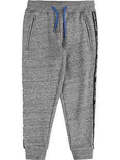 little-marc-jacobs-boys-logo-tape-sweatpants-grey